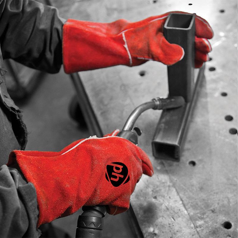 Polyco Welding Weldmaster Gloves Size L//9